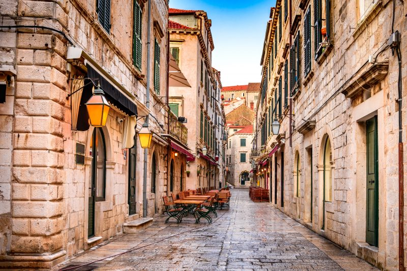 Stroll Through The Old City Of Dubrovnik On The Dubrovnik Day Tour From Split