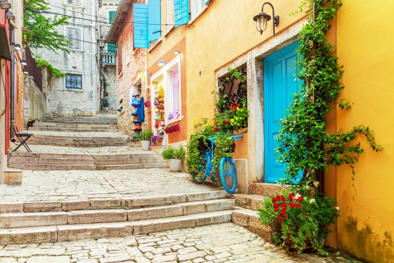Stroll Through The Beautiful Streets Of Rovinj During The Istria Day Tour From Zagreb