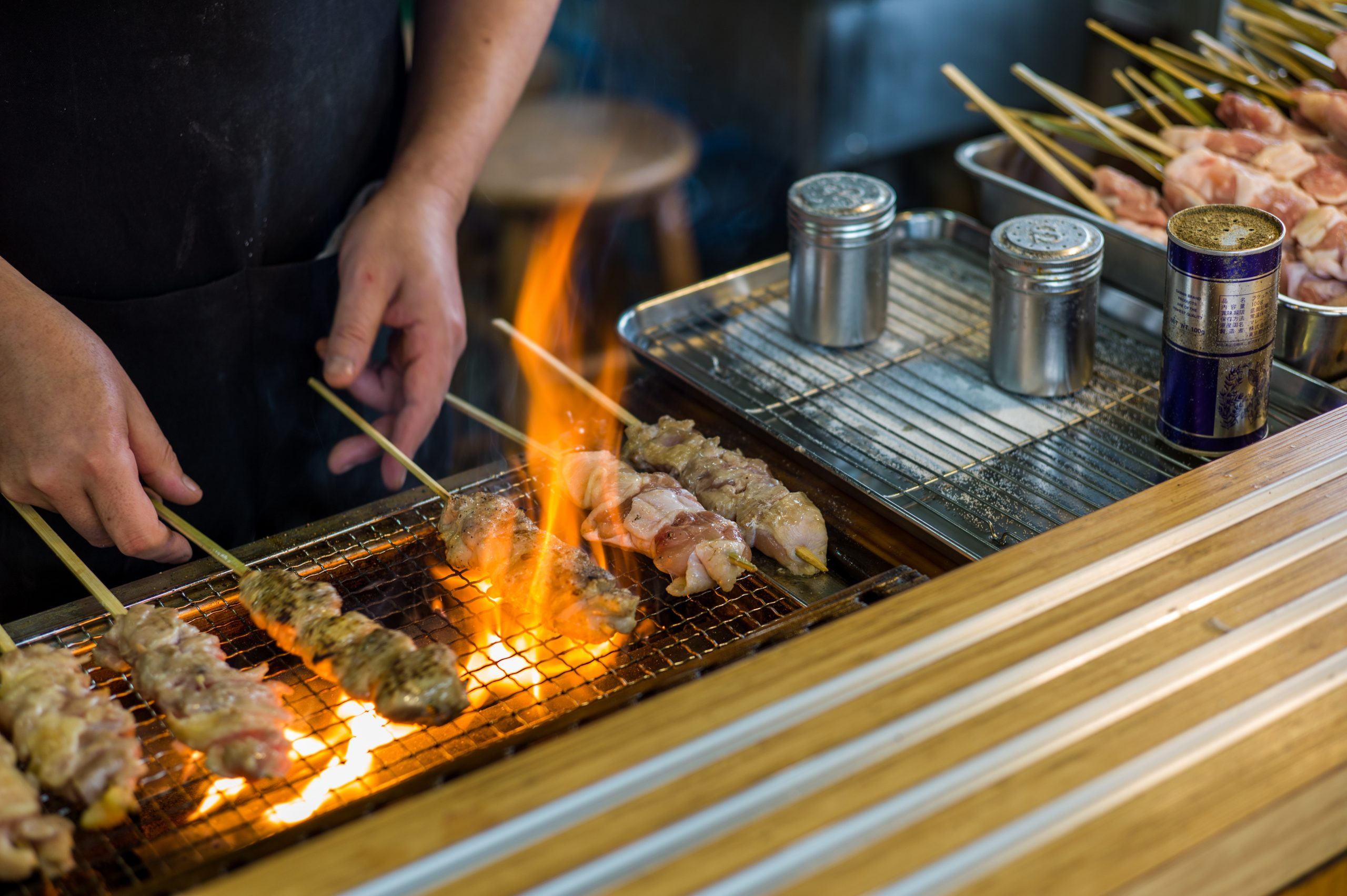 Taste The Delicious Yakitori On Your Osaka Market Tour And Cooking Class