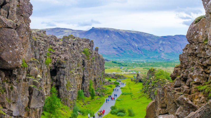 Visit Thingvellir National Park During The Golden Circle And Secret Lagoon Tour