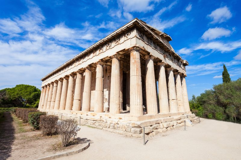 Visit The Temple Of Hephaestus During Your Athens Myth Tour