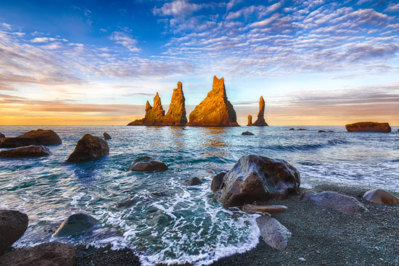 Visit The Troll Toes On The Black Beach Of Reynisfjara On Your Southern Iceland Day Tour