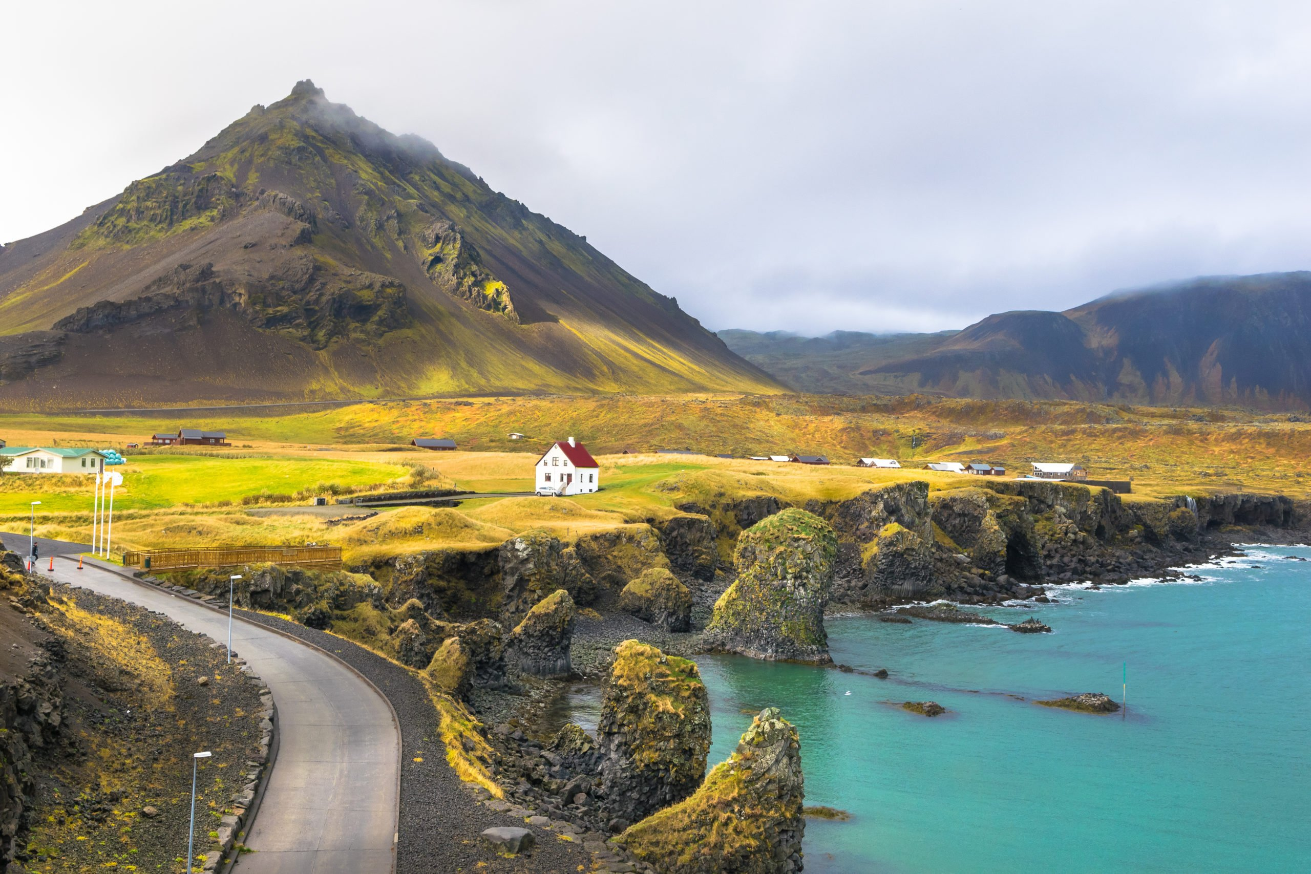 Visit The Beautiful Arnarstapi Fishing Village On Your Snæfellsnes Peninsula Day Tour