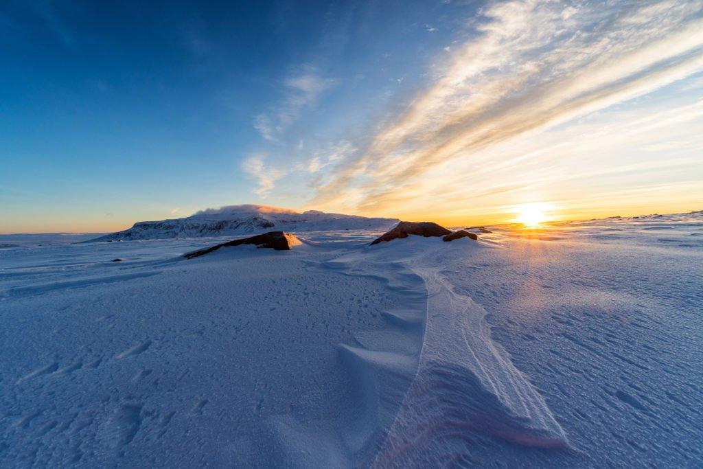 Visit Langjokull glacier Iceland during your two days in Reykjavik