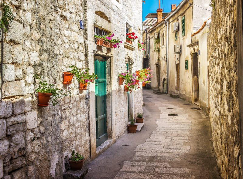 Wander The Narrow Alleys Of Sibenik On Your Krka National Park And Sibenik Day Tour From Split