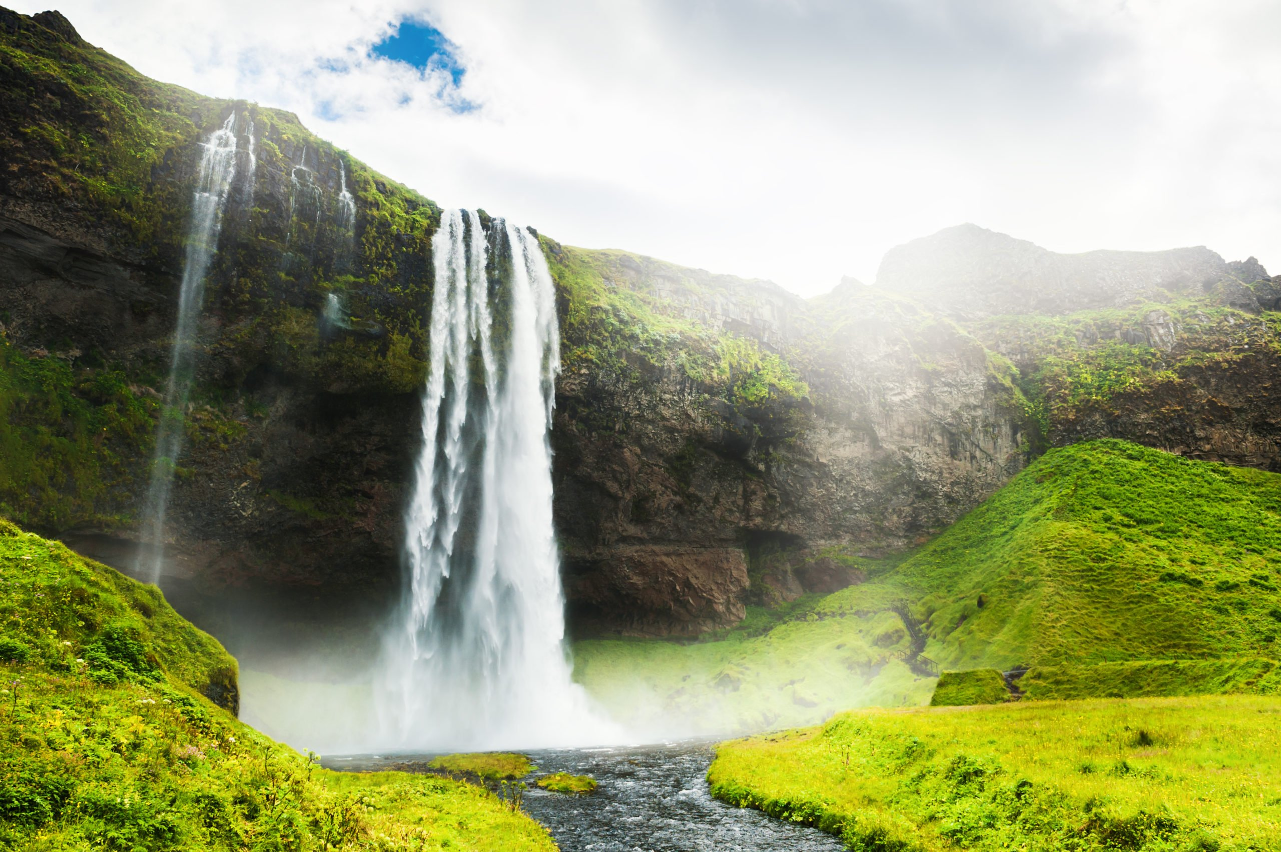 Your Jökulsárlón Glacier Lagoon Tour Will Stop At One Of The Most Famous Landmarks Of Iceland - Selijalandsfoss Waterfall