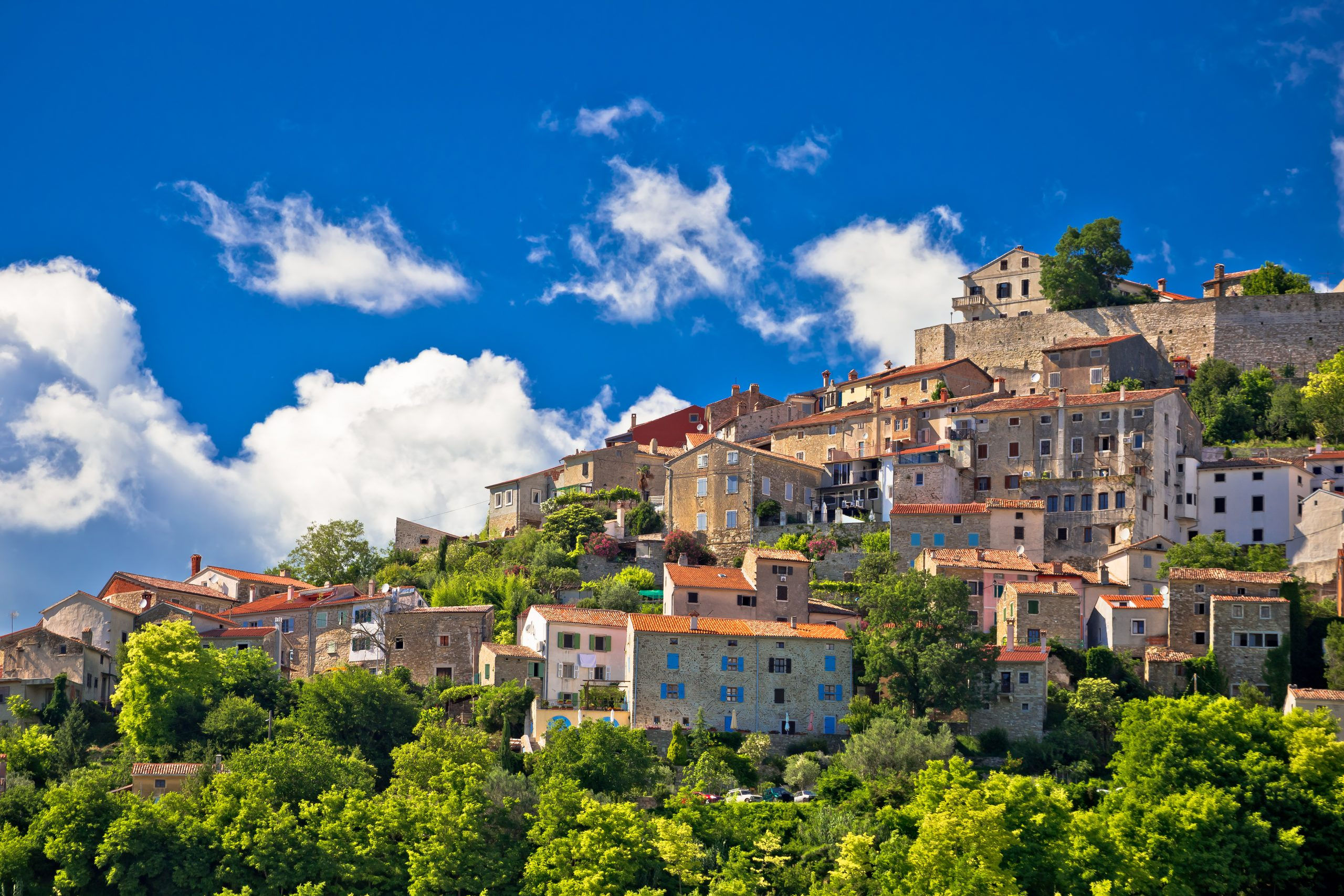 Enjoy A Walking Tour Of Motovun