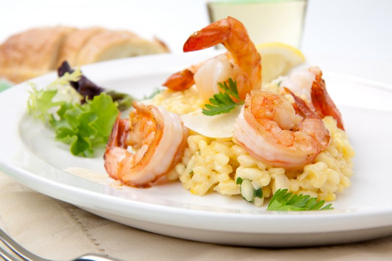 Taste A Delicious Shrimp Risotto During The Istrian Cooking Class