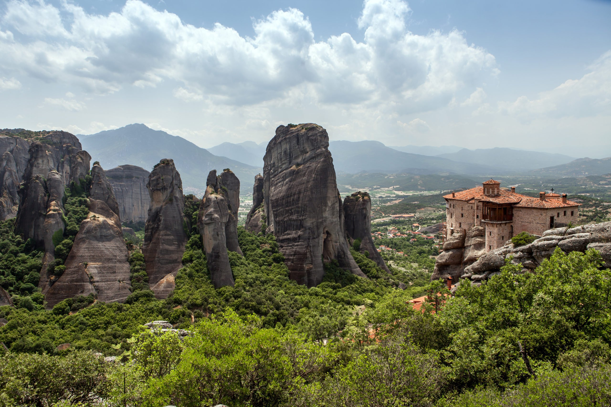 Admire The Astonishing Views Over The Bizzare Looking Rock Formations On The 3 Days In The Footsteps Of The Meteora Monks Package Tour From Kalampaka