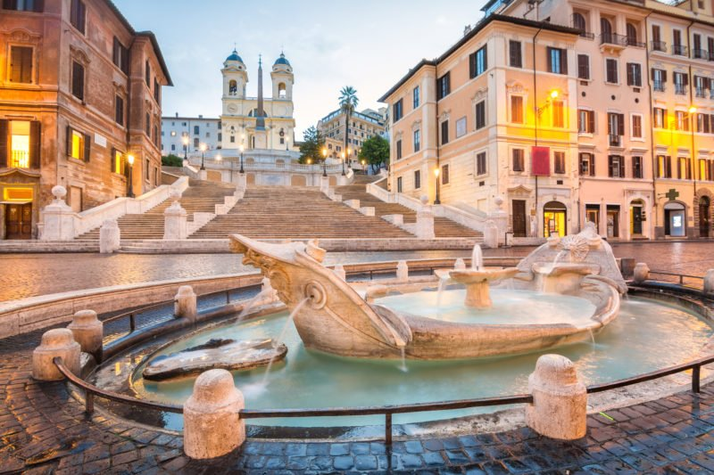 Admire The Famous Spanish Steps During The Insider Rome City Tour