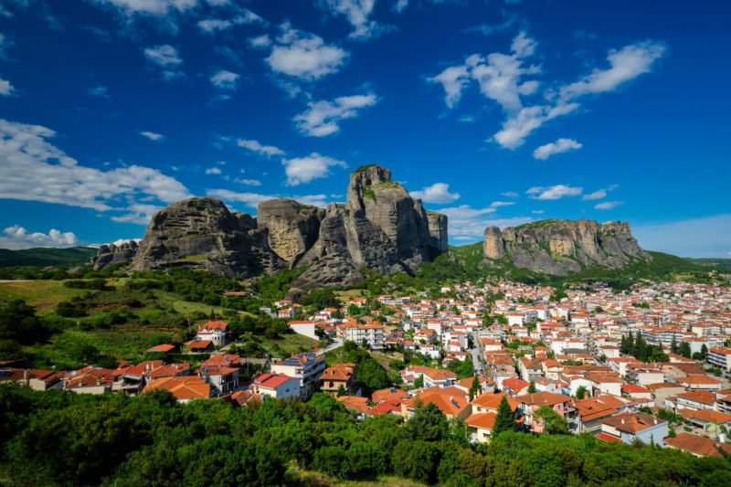 Arrive In Kalampaka For Your 3 Days In The Footsteps Of The Meteora Monks Package Tour From Kalampaka