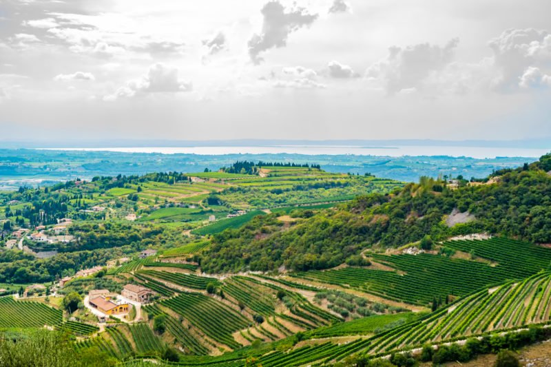 Beautiful Views Over The Valpolicella Valley