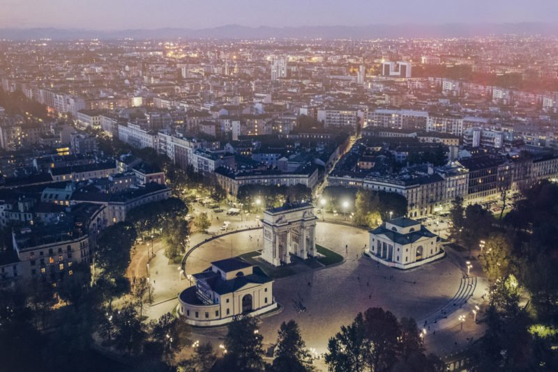Discover Milan By Night