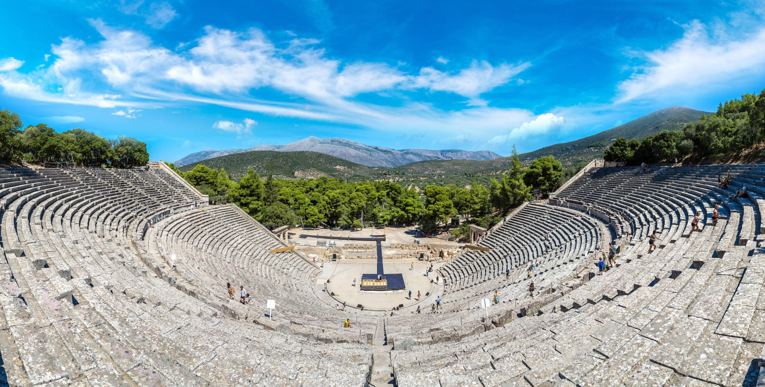 Discover One Of The Most Famous Ancient Sites Of The Greek History, The Amphitheatre Of Epidaurus On The Epidaurus & Mycenae Tour From Athens