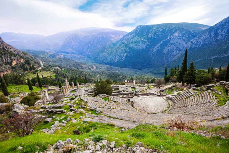 Discover The Ancient Ruins Of Delphi On The Delphi Tour From Athens