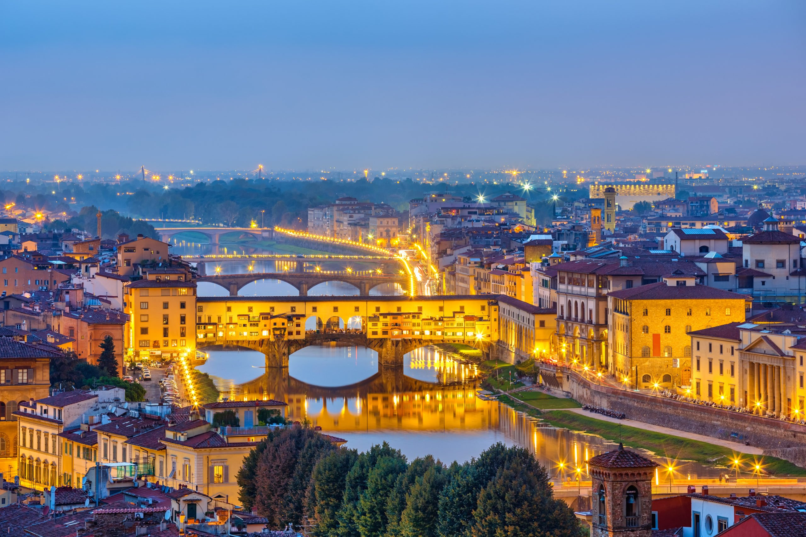 Discover The Beautiful City Of Florence And It's Magical Spots During The Florence Night Walking Tour