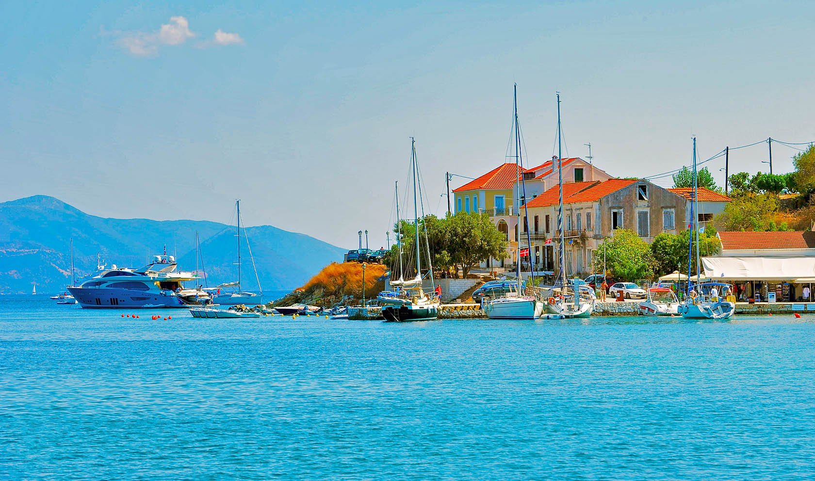 Discover The Beautiful City Of Fiscardo On The Kefalonia Coastline Cruise Including Fiscardo & Melissani Lake_57