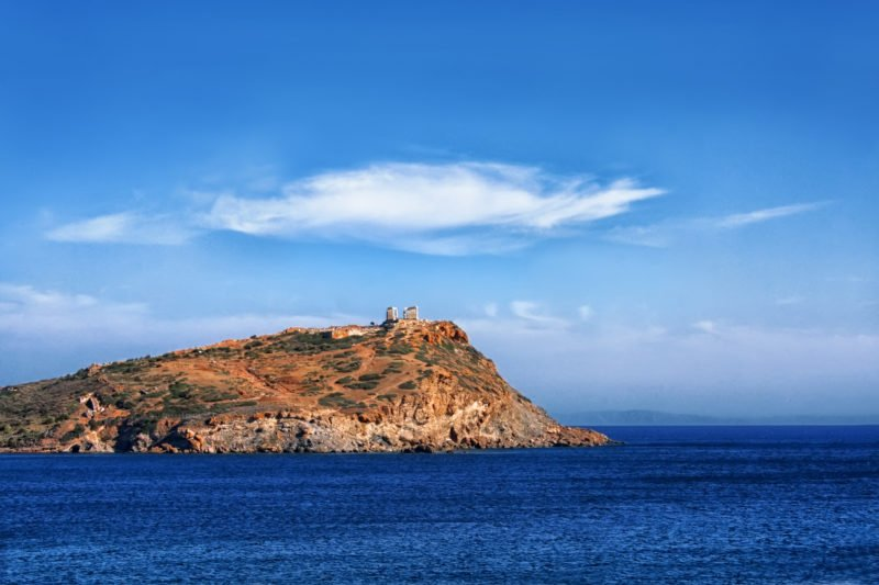 Discover The Stunning Temple Of Poseidon Rising On Cape Sounion During The Cape Sounio Half Day Tour From Athens