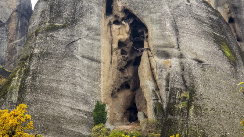 Discover Ther Hermit Cave Of Varnavas During The Meteora's Hermit Cave Half Day Hiking Tour_47