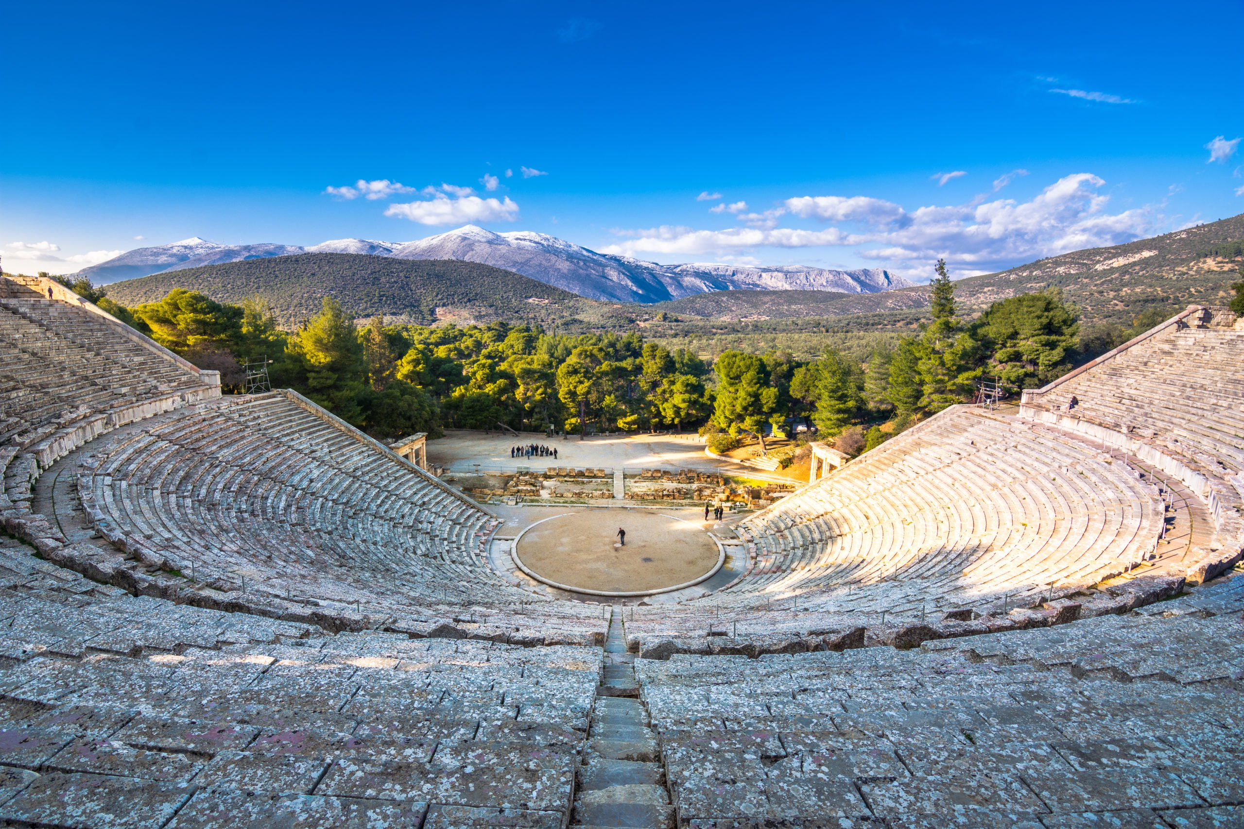 Discover The Marvelous Theater Of Epidaurus On The On The Greece 4 Day Tour Package From Athens