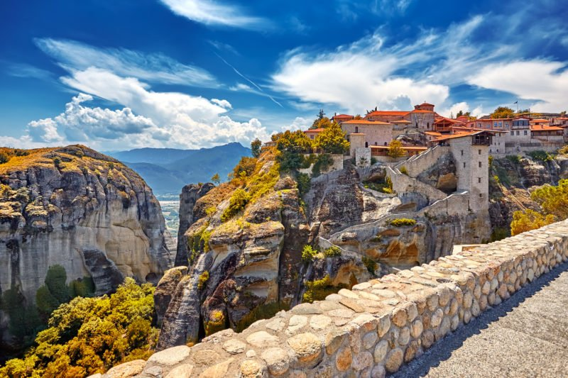 Don't Miss A Visit Of The Great Monastery Of Varlaam On The Meteora Tour From Athens Or Thessaloniki By Train
