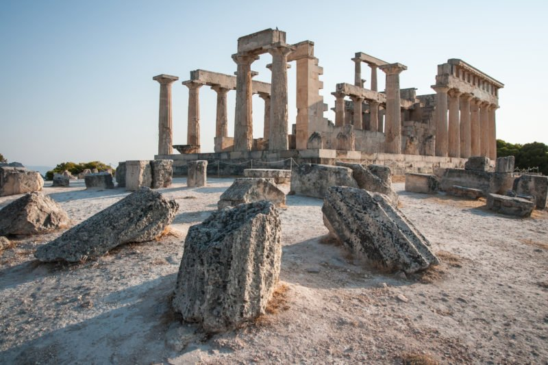 Don't Miss The Chance To Book A Tour Of The Afaia Temple During Your Aegina, Poros And Hydra Cruise From Athens