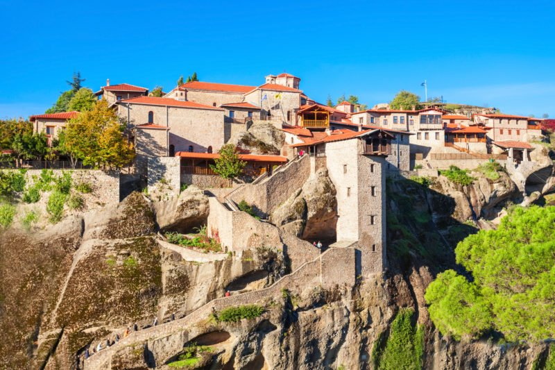 Enjoy A Visit Of The Extraordinary Monasteries Of Meteora On The 3 Days In The Footsteps Of The Meteora Monks Package Tour From Kalampaka