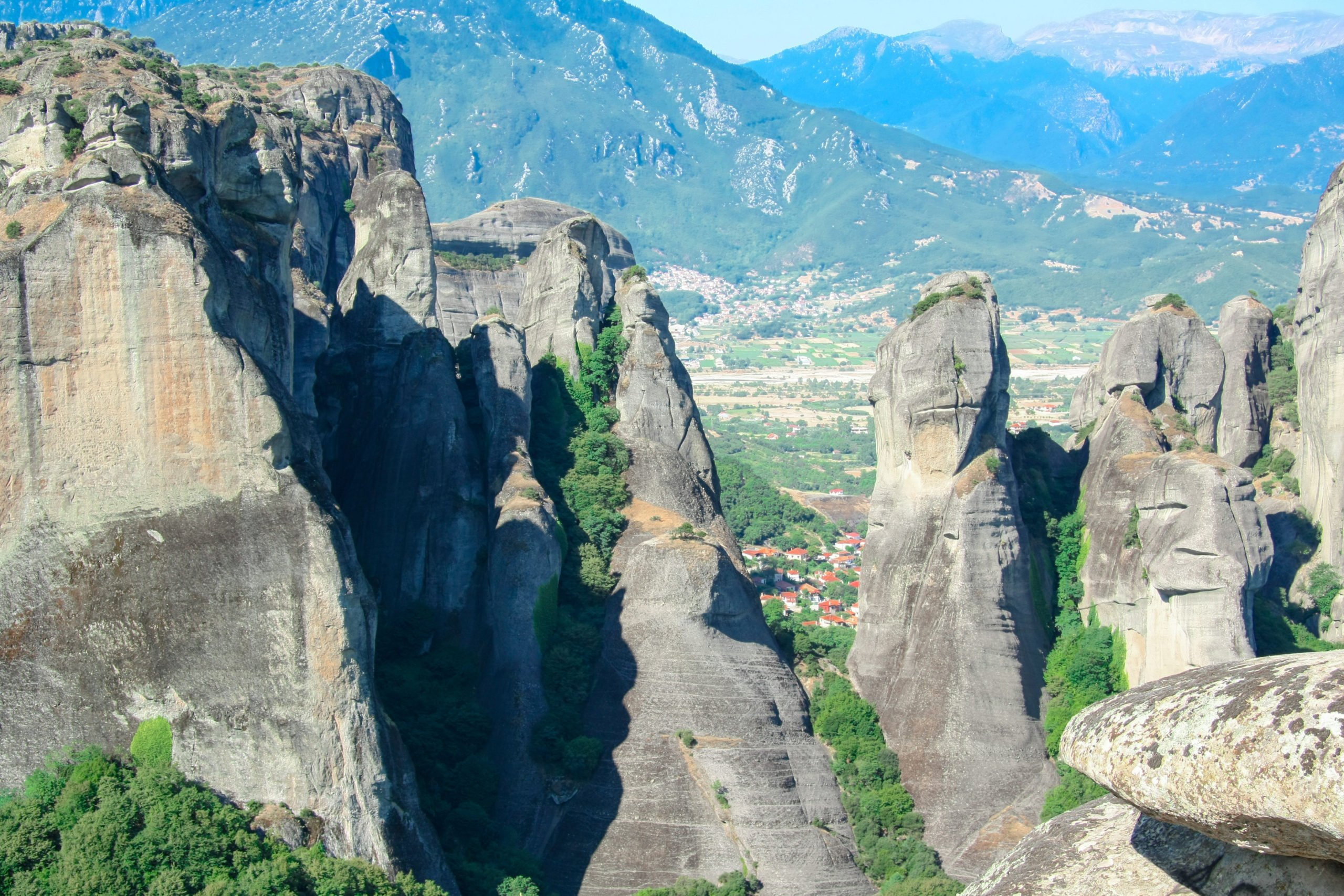Enjoy The Beautiful Views Hiking The Kastraki Trails On The Meteora's Hermit Cave Half Day Hiking Tour