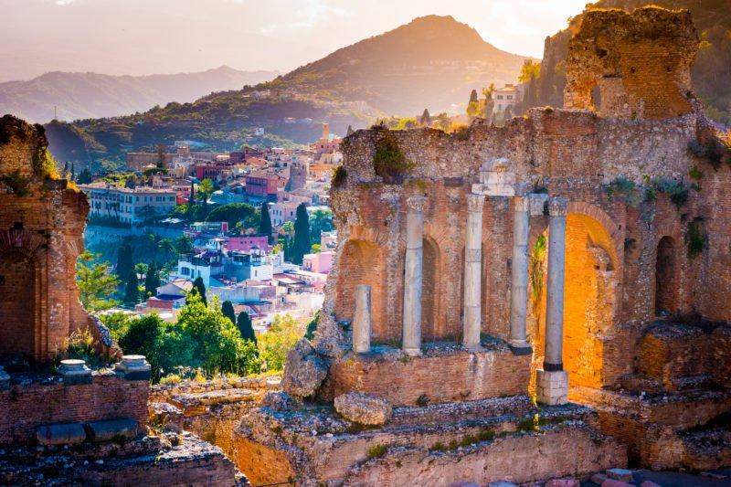 Enjoy The Beautiful Views Over Taormina On The Insider Taormina City Tour