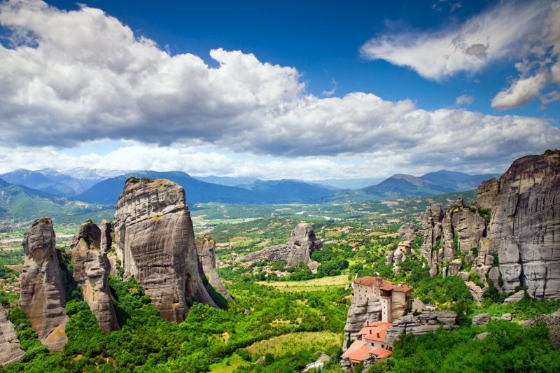 Enjoy The Breathtaking Views Over Meteora On Your On The Greece 4 Day Tour Package From Athens