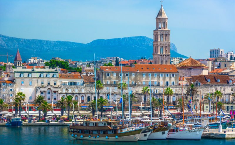 Enjoy Time In The Historical City Of Split On The 7 Day Highlights Of Croatia Package Tour