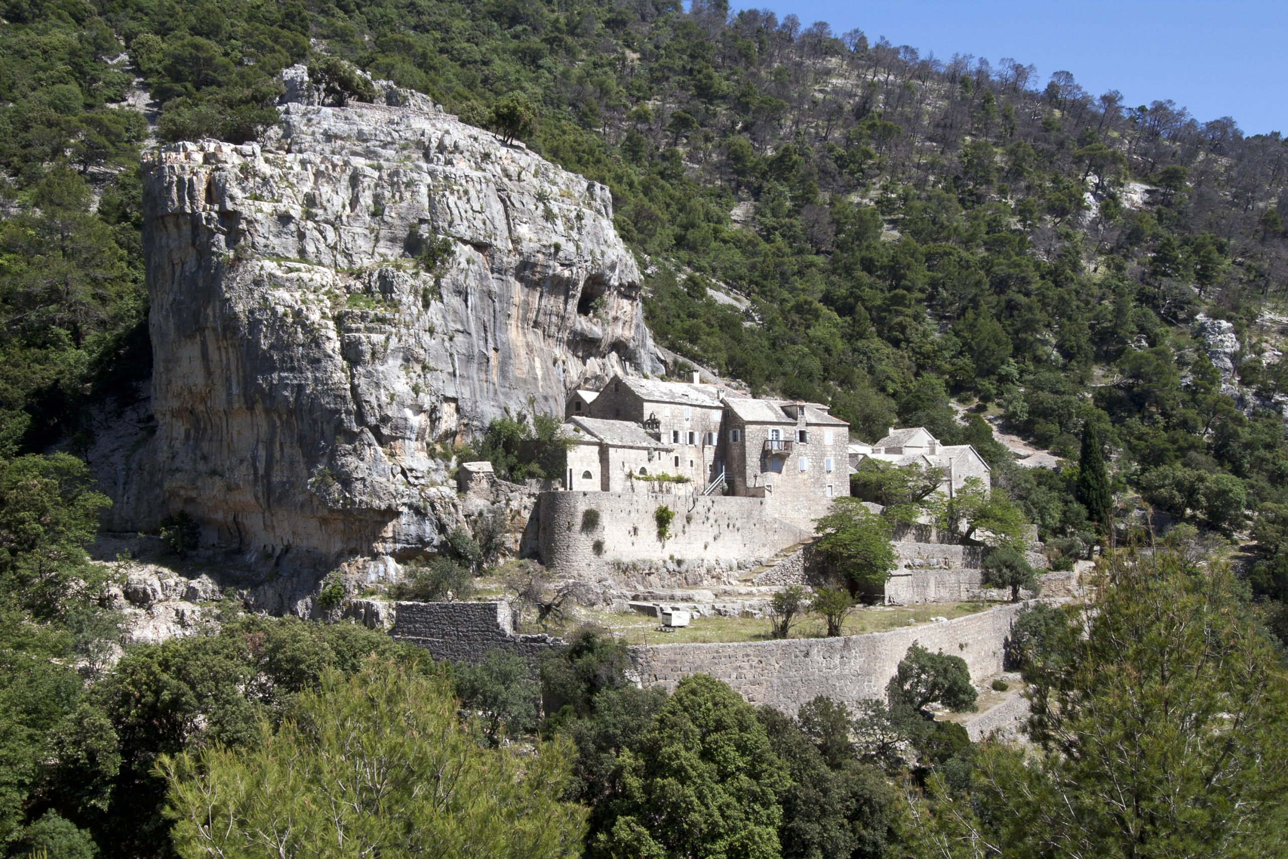 Explore Blaca Medieval Glagolitic Hermitage On Brac Island On The 7 Day Croatian Island Package Tour