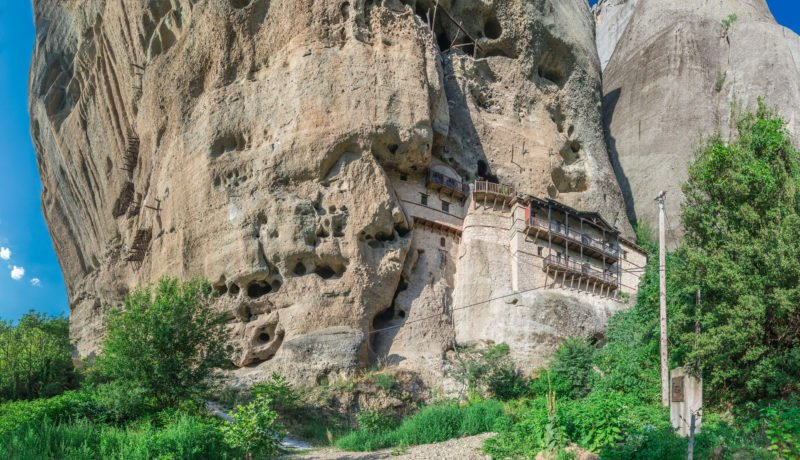 Explore The Hermit Caves In Meteora