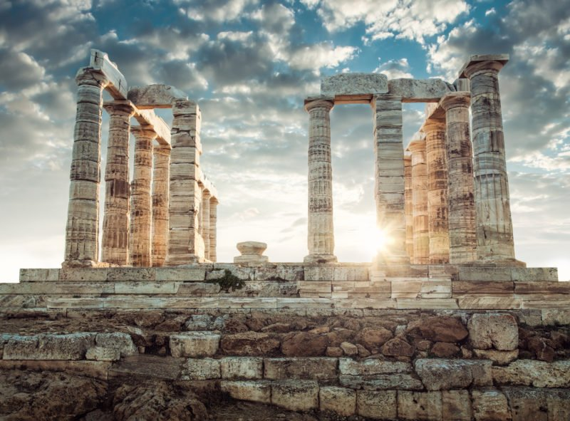 Explore The Temple Of Poseidon At Cape Sounio On The Sunset Cape Sounio Tour From Athens