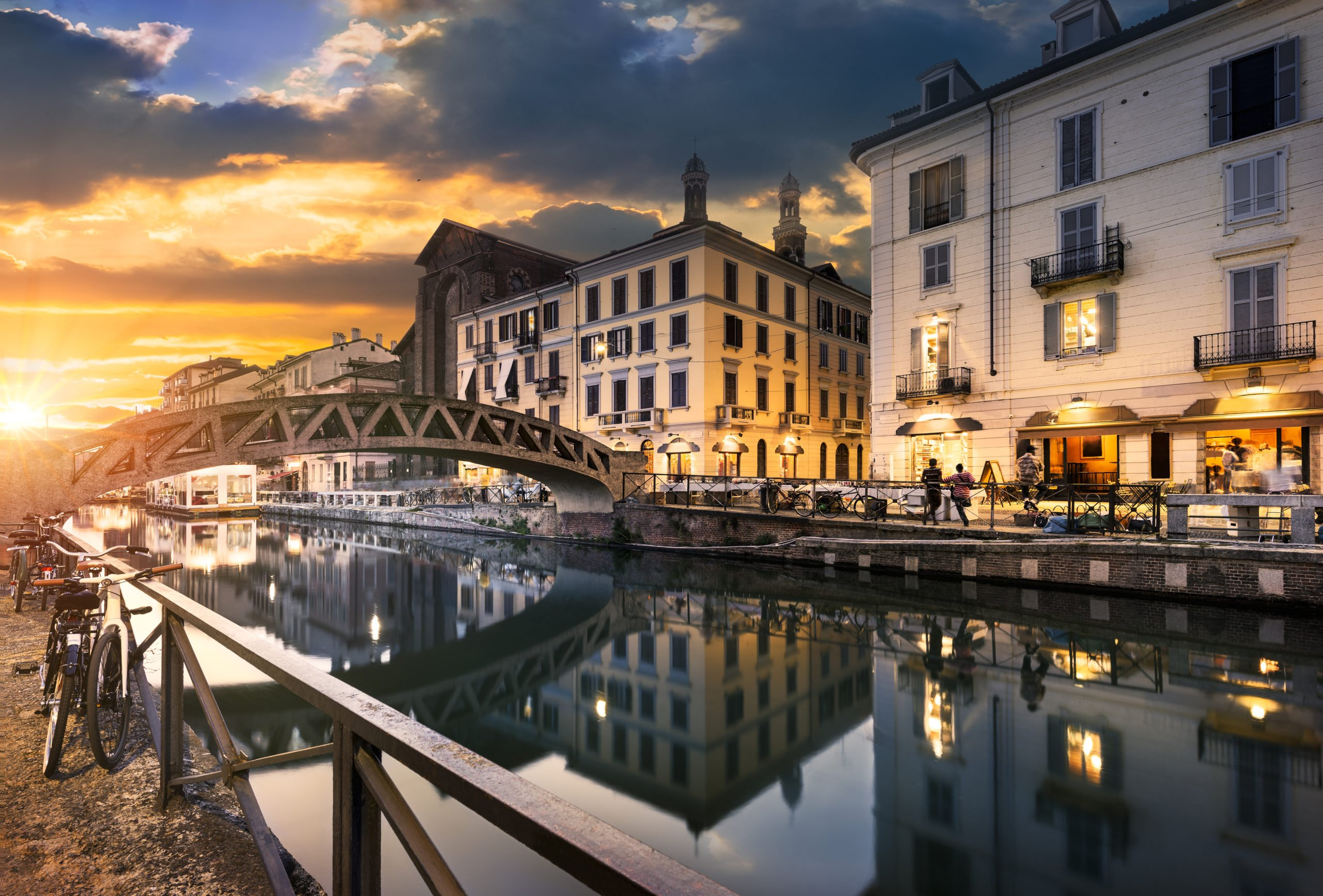 Explore The Beautiful City Of Milan On The Milan Night Walking Tour