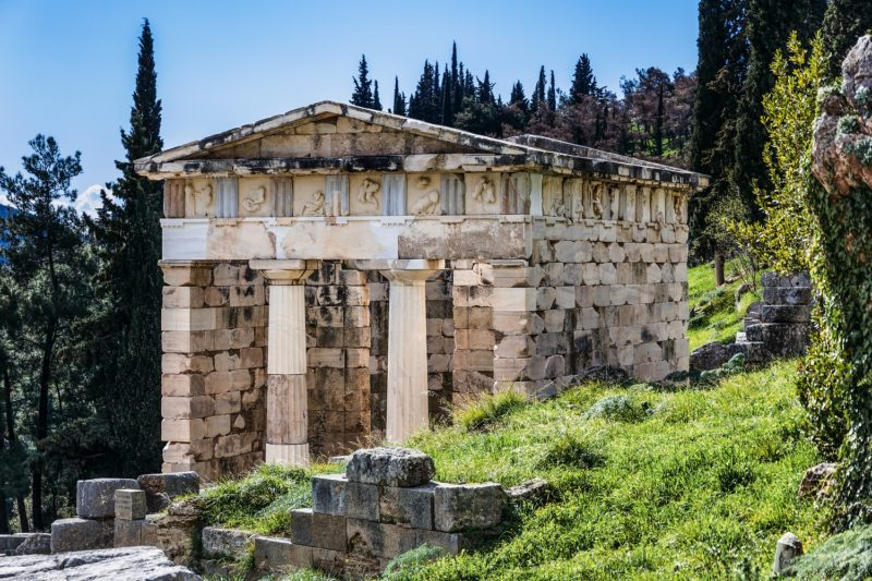 Explore The Site Of The Oracle Of Delphi On The On The Greece 4 Day Tour Package From Athens