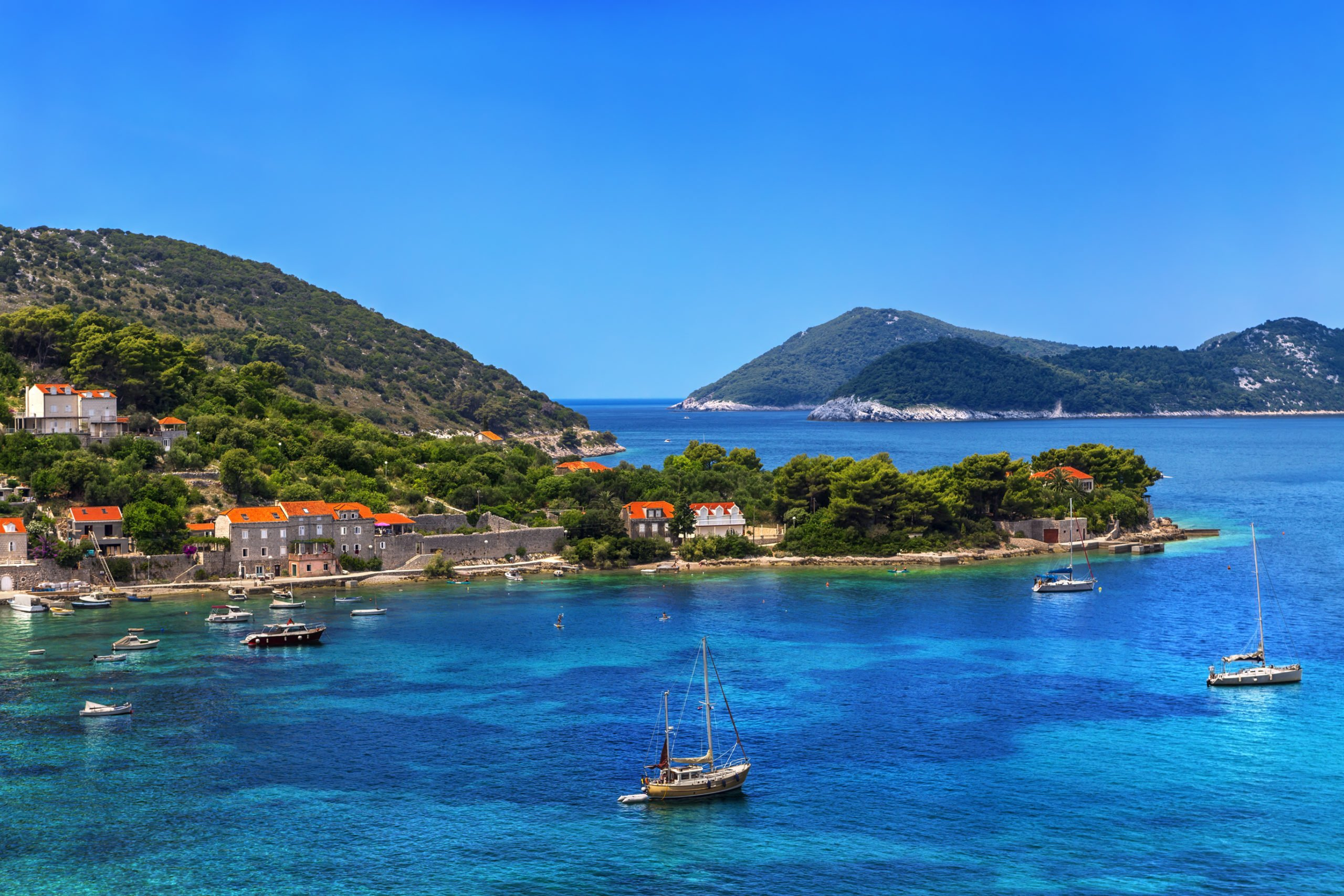 Explore The Smallest Of The Elaphiti Islands - Kolocep Island - On Your 2 Day Dubrovnik Tour Package