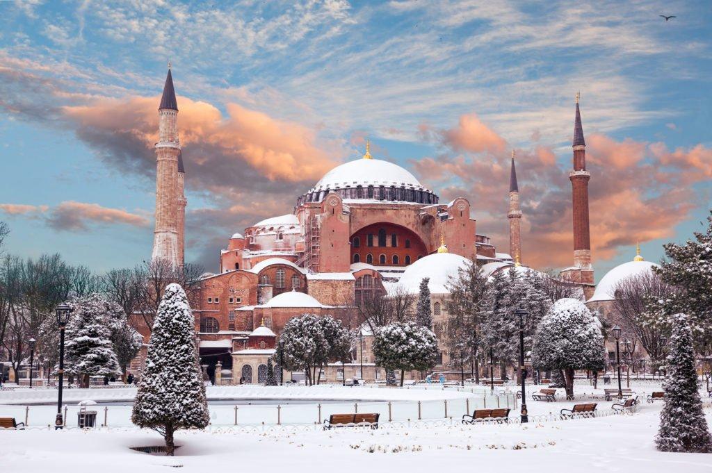 winter visit istanbul