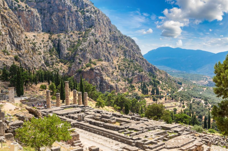 Learn About The Legends Surrounding The Oracle Of Delphi And The Temple Of Apollon On The Delphi Tour From Athens