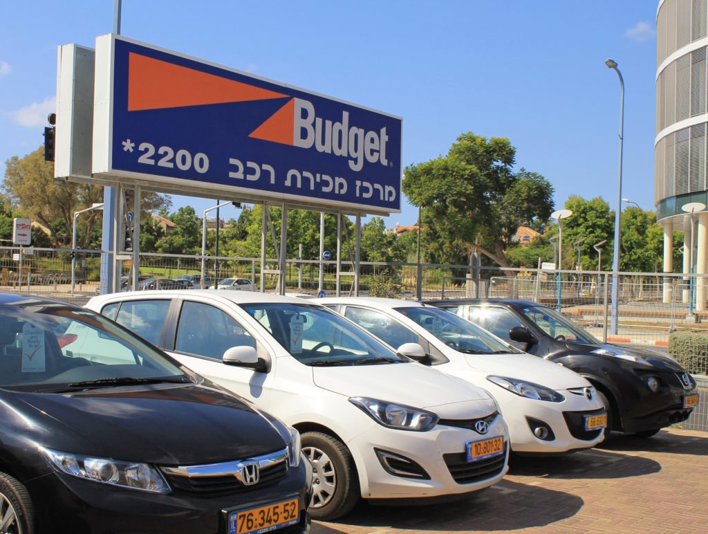 Rental Car Israel