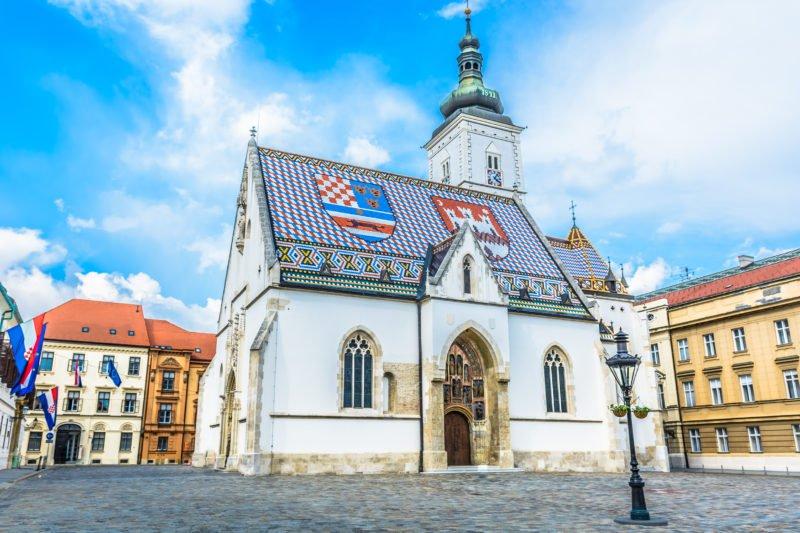 St Mark Church Zagreb
