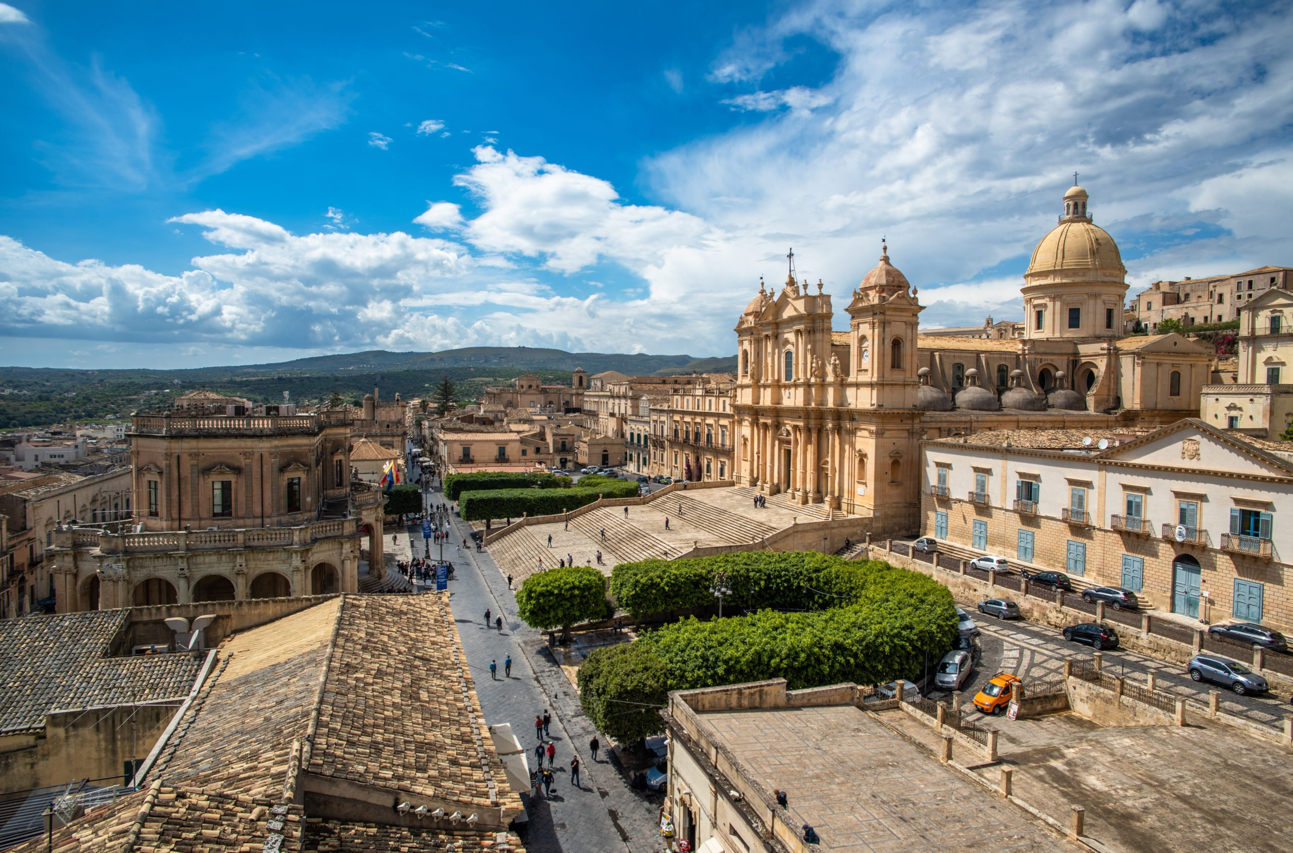 Stroll Trough The Beautiful City Of Noto On The Taste Of Sicily 8 Day Package Tour