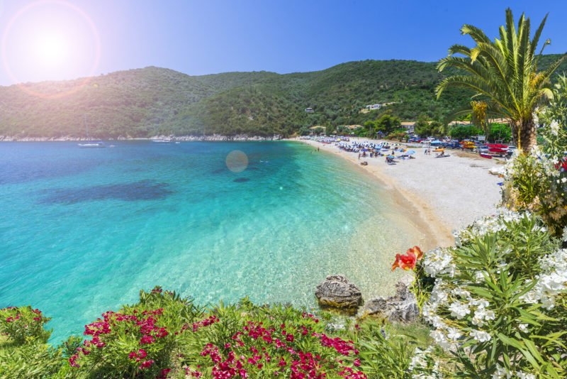 Take Your Time And Relax At A Beach In Poros During The Aegina, Poros And Hydra Cruise From Athens