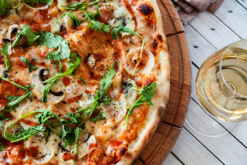 Try Your Pizza With A Glass Of Wine During The Rome Pizza Making Experience