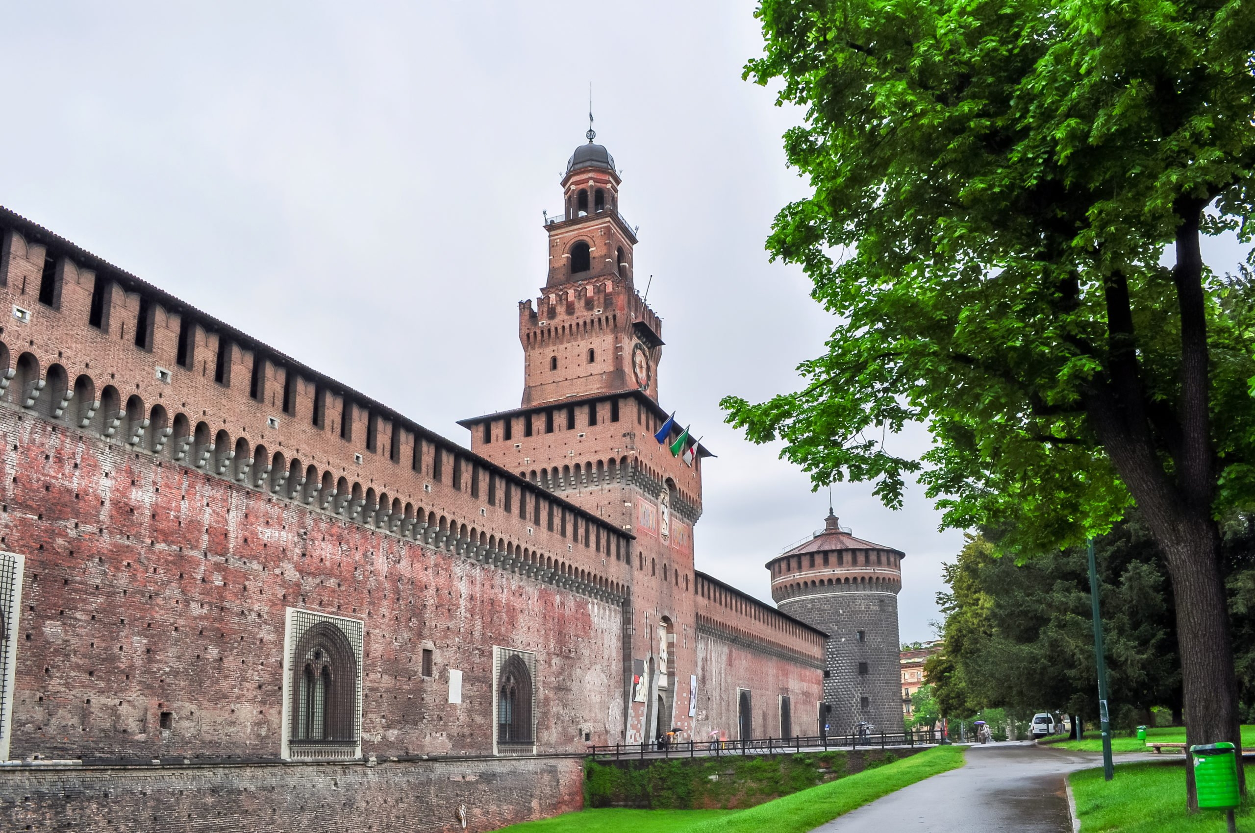 Visit Sforza Castle, Which Is The Home Of One Of The Most Famous Statue Of Michelangelo During The Milan Dome And Sforza Castle Half Day Tour