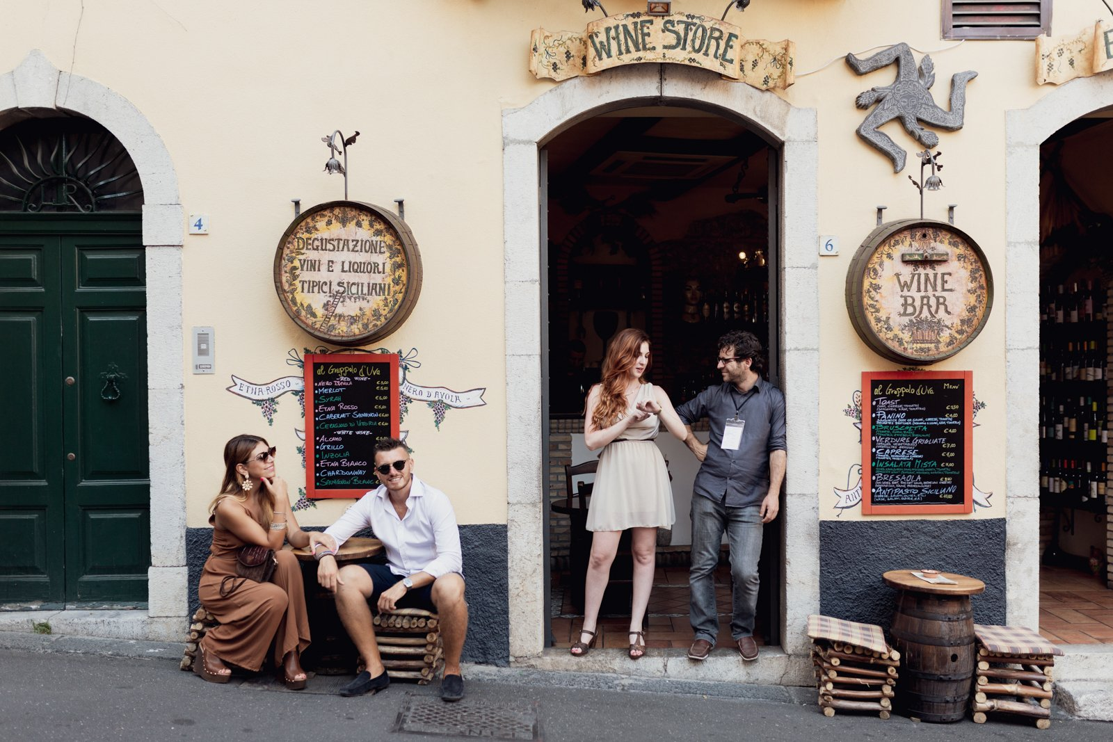 Visit A Typical Wine Bar And Hear About The Sicilian Cusine On The Taormina Food And Wine Tasting Tour_48