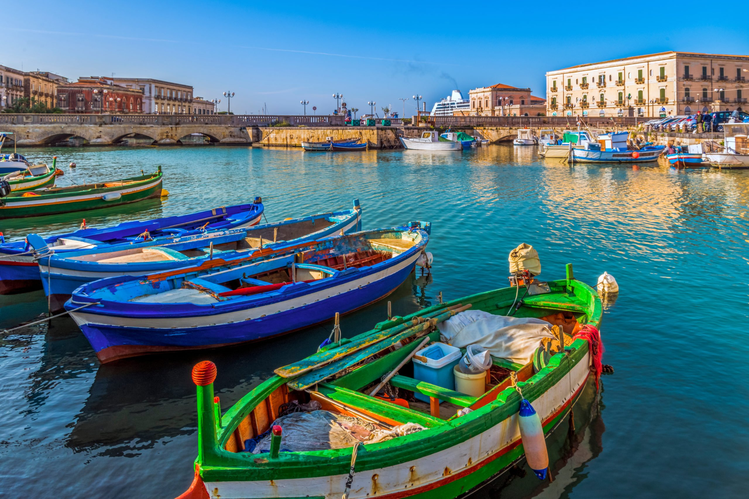 Visit The Ortigia Island , The Old City Of Syracuse On The Taste Of Sicily 8 Day Tour