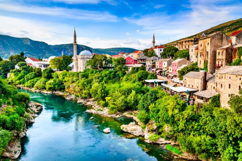 Visit The Beautiful City Of Mostar On The 7 Day Highlights Of Croatia Package Tour
