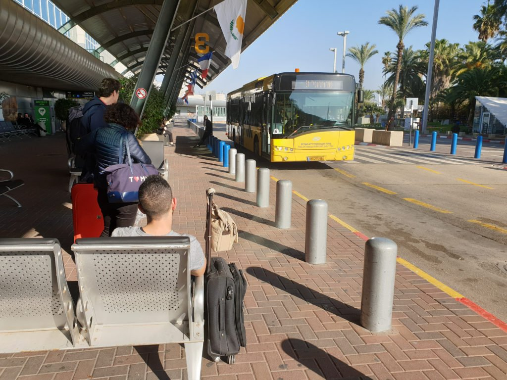 how to get to/from ben gurion airport