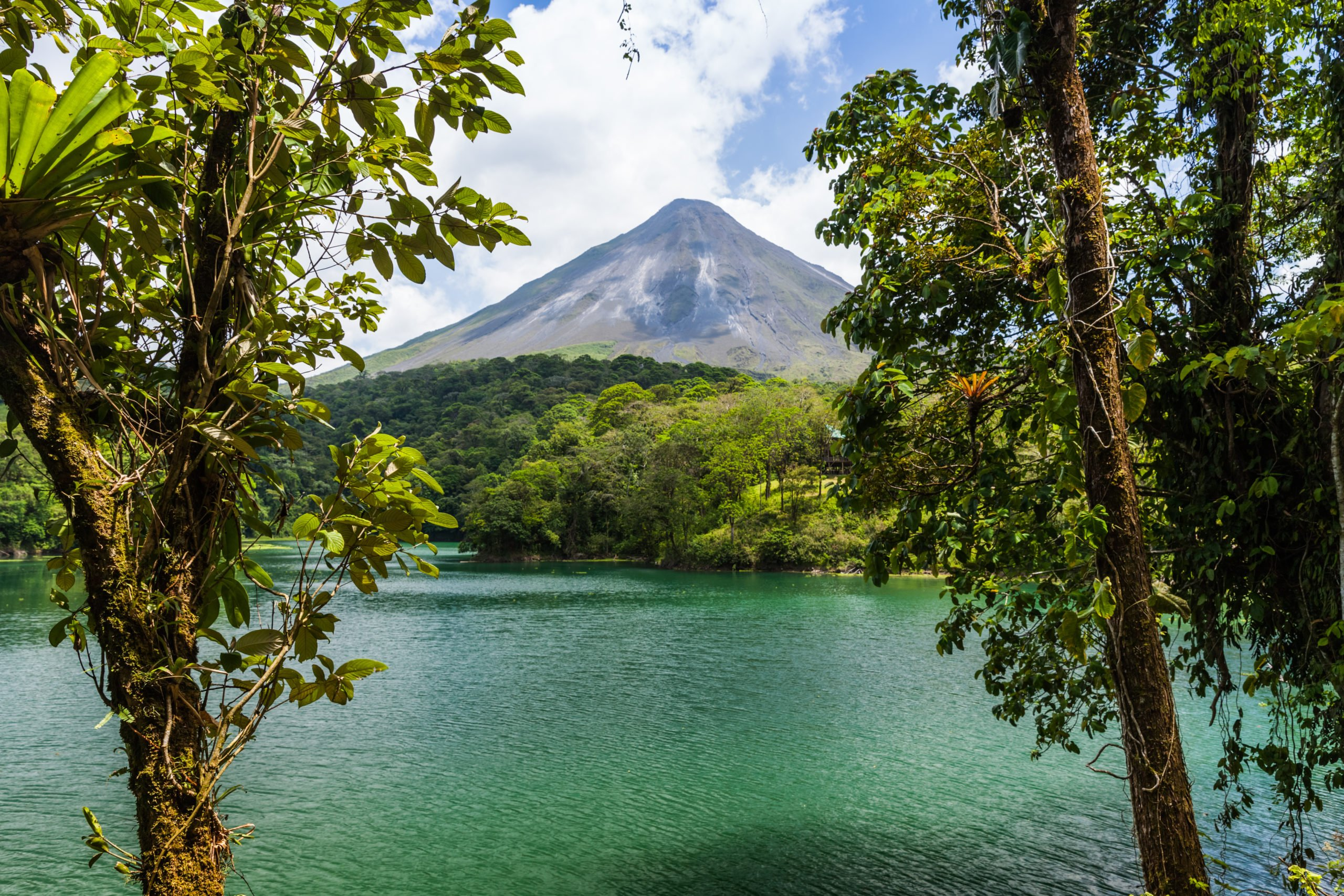 Admire The Arenal Volcano On The 6 Day Pacific Coast And Arenal Tour Package